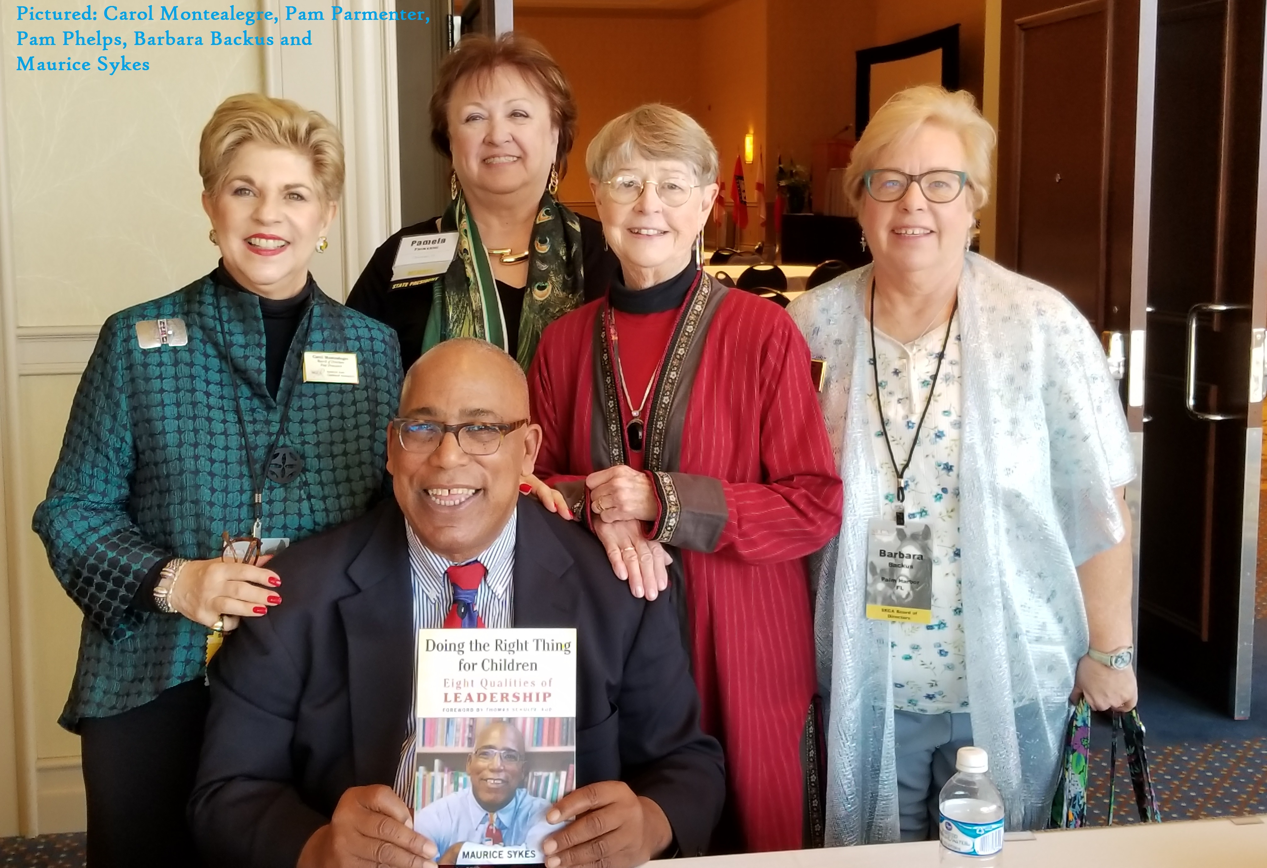 Carol Montealegre, Pam Parmenter, Pam Phelps, Barbara Backus, Maurice Sy...
